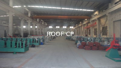 Cina Roof Panel Roll Forming Machine Company