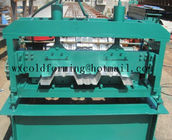 Automated PLC Control  High Precision Steel Structure Floor Deck Roll Forming Machine For Metal Decking Sheet for sale