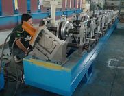Terbaik Steel / Aluminum / Copper Mobile Seamless Gutter Machine For Rainwater Gutter Profiles