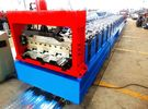 Terbaik Motorized 0.8MM - 1.2MM Roll Forming Machine Professional With 28 Stations