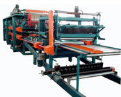 Cina Double Belt PU Sandwich Panel Making Machine Automatic For Roof Wall Panel distributor