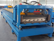 Terbaik CE Roof Panel Roll Forming Machinery 18 Stations 5 Tons De - Coiler Single Chains