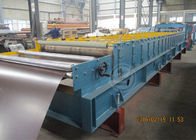 Terbaik Glazed Metal Tile Cold Roll Forming Machine with Hydraulic Punching Device