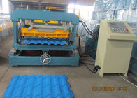 Terbaik Glazed Metal Tile Forming Speed 4m/min  Roof Tile Roll Forming Machine 380V/3Phase/50HZ