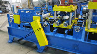 Terbaik 20 KW Steel Frame C Purlin Roll Forming Machine For C / Z / U Shape Purlins for sale