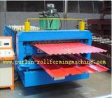 Cina Corrugated Roof Tile Roll Forming Machine Double Layer 0.3mm - 0.8mm for Colored Steel Tiles distributor