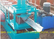Cina Durable Seamless Gutter Machine , Water Gutter Making Equipment Former Line distributor