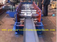 Cina Galvanized Automatic Seamless Gutter Machine , Rain Gutter Roll Forming Machinery distributor
