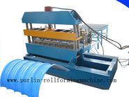 Cina 7.5KW Hydraulic Bending Machine / Pipe Rolling Machinery For 0.7mm - 1.5mm Cable Tray distributor