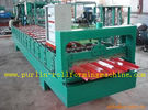 Terbaik High Speed Glazed Tile Cold Roll Forming Machine 0 - 20 m/min Red Roofing Panel or Customized for sale