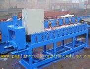 Terbaik Roof Ceiling Roll Forming Machine , Omega Channel Roll Forming Machine For Furring Channel for sale