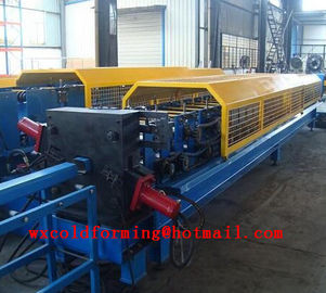 Cina Square Downspout Roll Forming Machine Electrical For Rainwater Pipes pabrik
