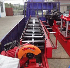 Cina Rectangular Rainspout Roll Forming Equipment for Rainwater Downpipe Distributor