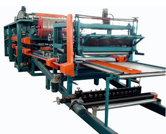 Cina Double Belt PU Sandwich Panel Making Machine Automatic For Roof Wall Panel pabrik