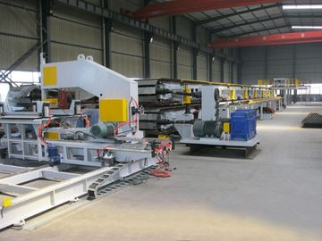 Cina Japan Mitsubishi PLC Aotomatic Control  PU Sandwich Panel Production Line Distributor