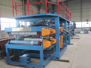 Cina 1250mm Width EPS Sandwich Panel Roll Forming Machine 28Kw for Warehouse​ Distributor